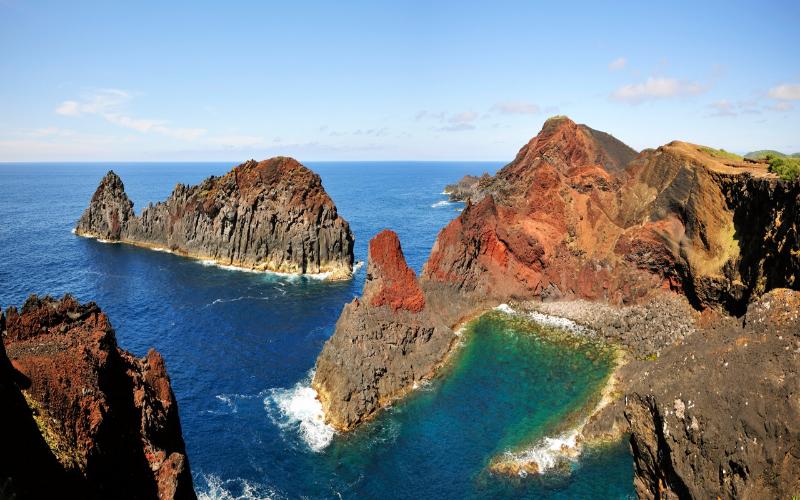 graciosa island scenic view