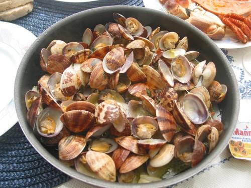 sao jorge azores clam dish