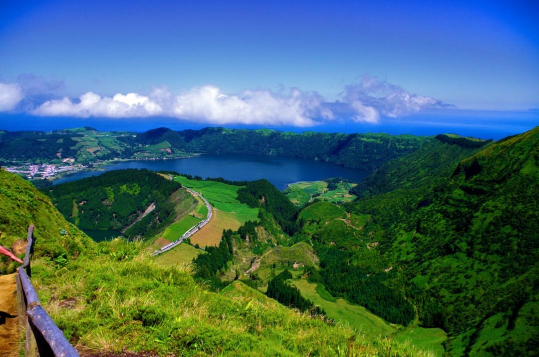 Azores Sete Cidades lagoon