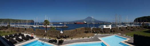 pousada forte horta in faial island - perfect wedding venue